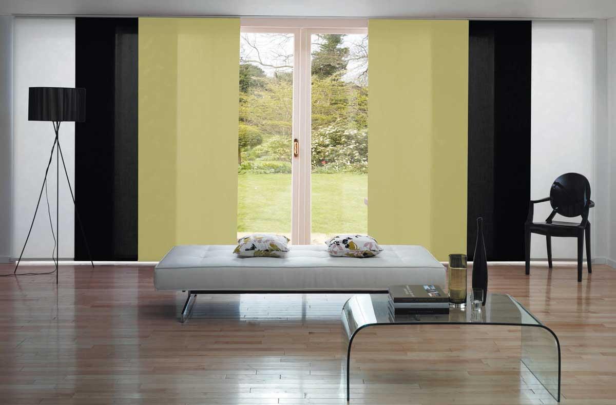 Flächenvorhang Wohnzimmer