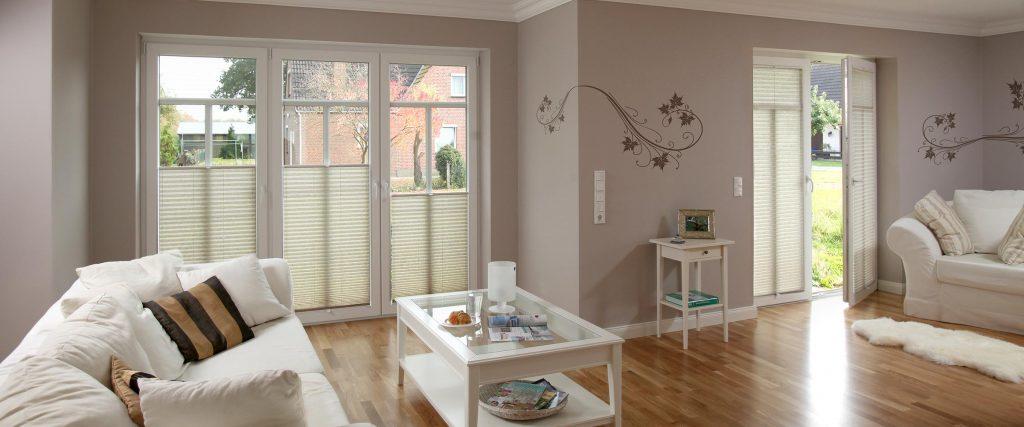 Plissees f r wohnzimmer solarmatic sonnenschutz gmbh - Plissee wohnzimmer ...