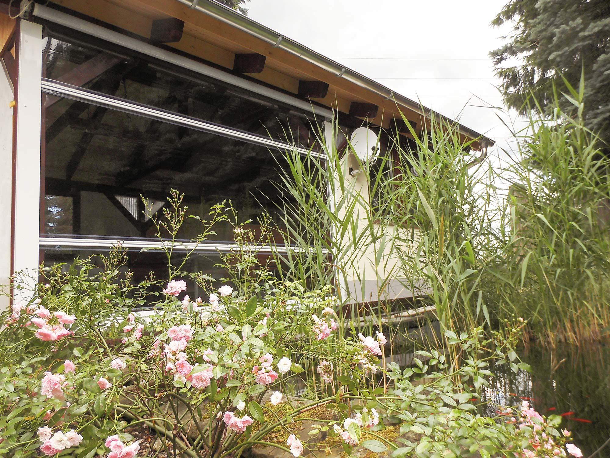 Outdoor-Rollos für die Terrasse