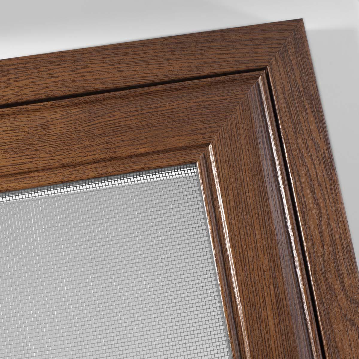 Drehtür aus Holz