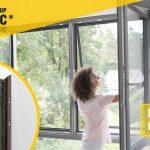 Exklusiver Insektenschutz-Spannrahmen – ganz einfach montiert!