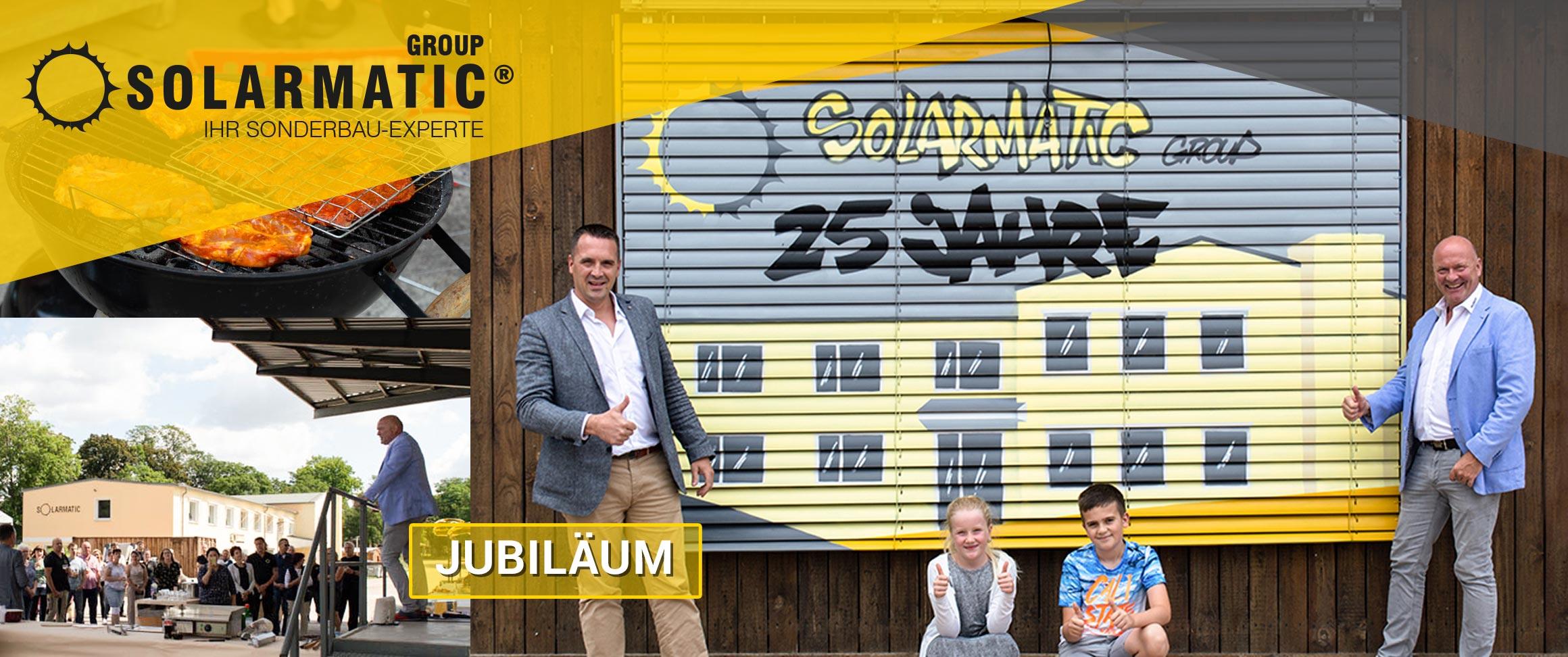 SOLARMATIC feiert sein 25-jähriges Firmenjubiläum